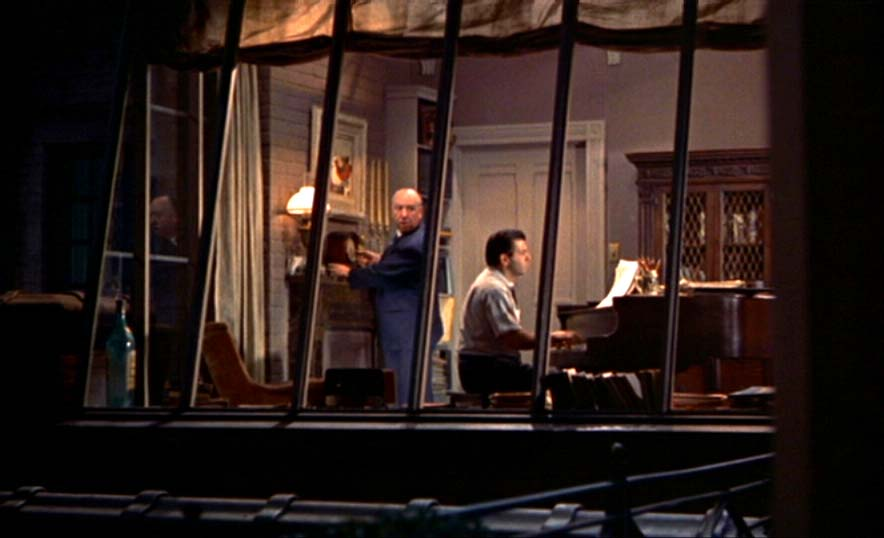 classical editing paper rear window
